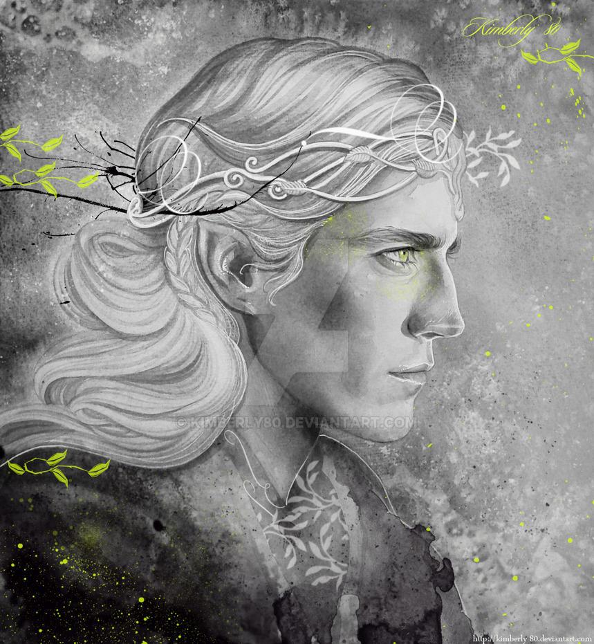 Gray cloak sketch by kimberly80
