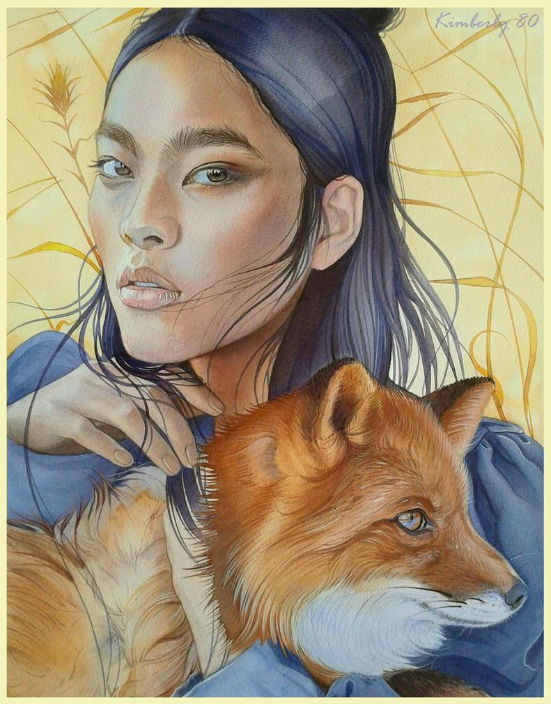 The Kitsune by kimberly80