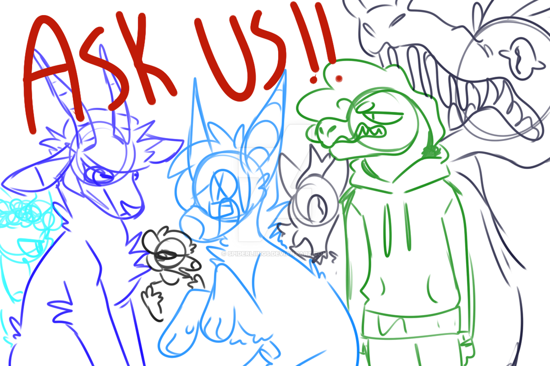 ASK MY OCS !!! by spiderliings