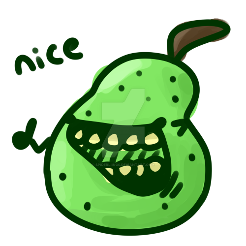 pear.png by spiderliings