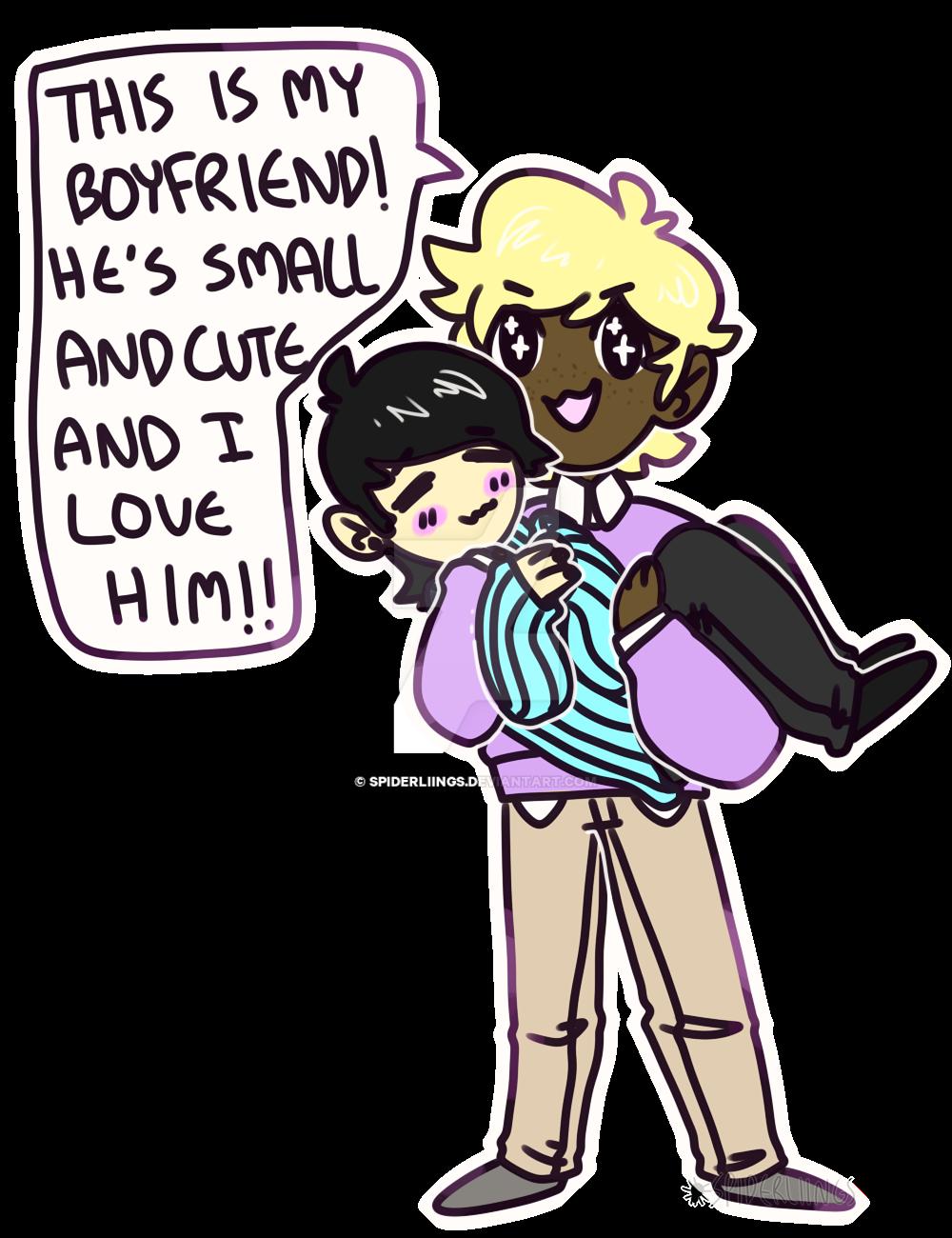 boyfriends!! by spiderliings
