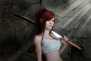 Erza Scarlett by Shiva-Aure