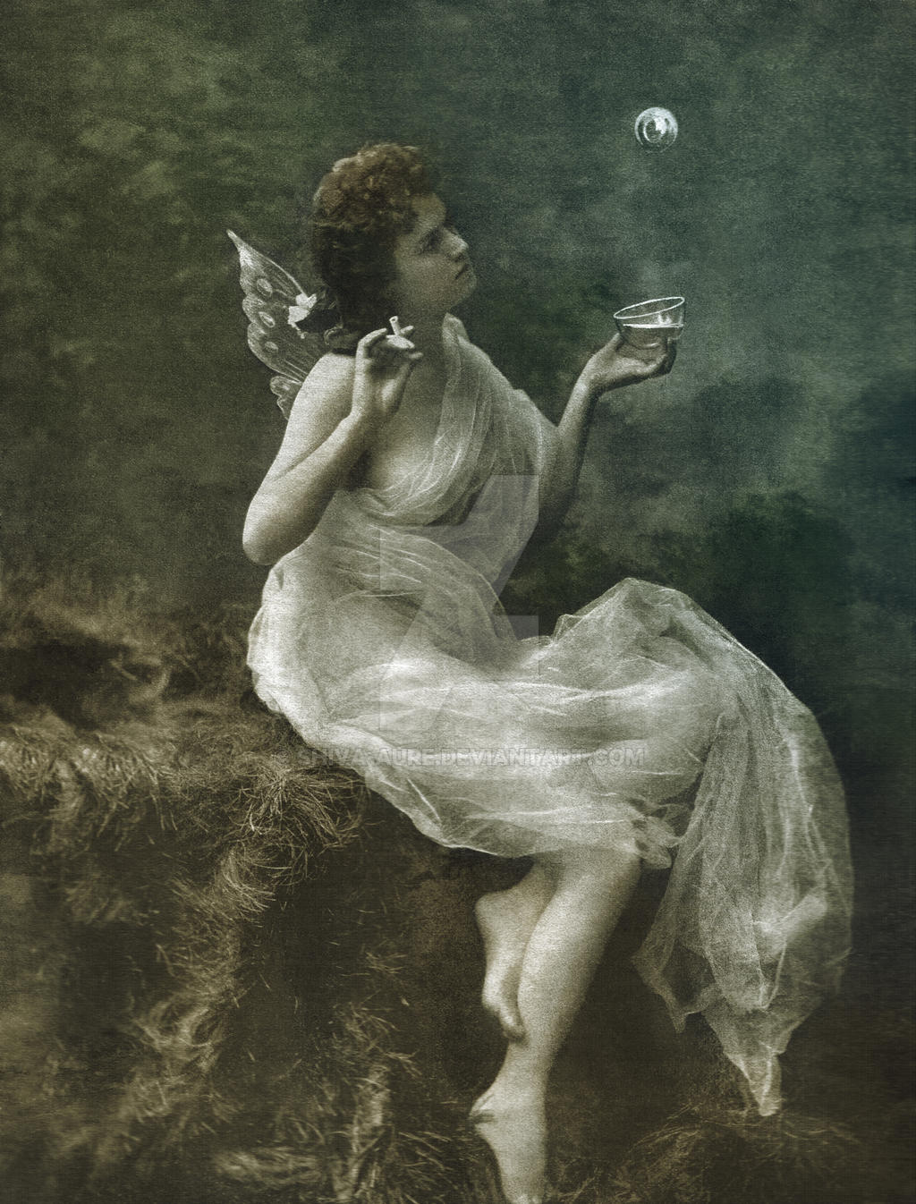 Vintage fairy - reconstruction by Shiva-Aure