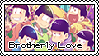 [Stamp] Osomatsu-san - Brotherly Love by ScaryShadowFog