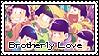 [Stamp] Osomatsu-san - Brotherly Love by ScaryShadowFog