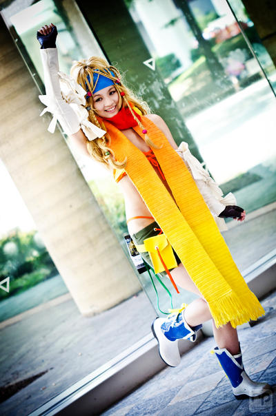 FFX-2: Rikku by Mei-Hoshi