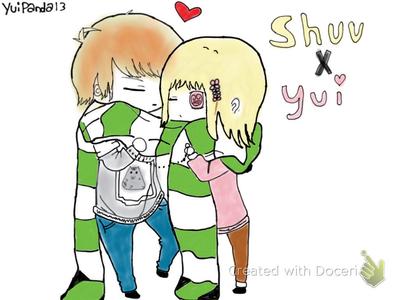 Shuu X Yui  by yuipanda13