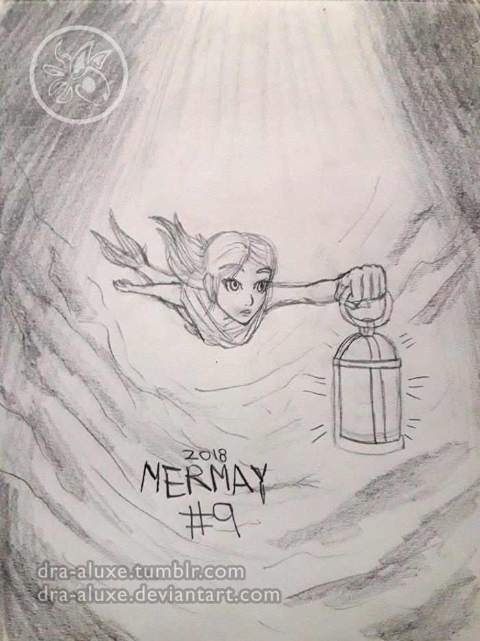 Mermay #9 2018 - Wanderer by Dra-Aluxe