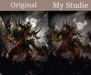 10.06.2019 Study: Warhammer 40k ork