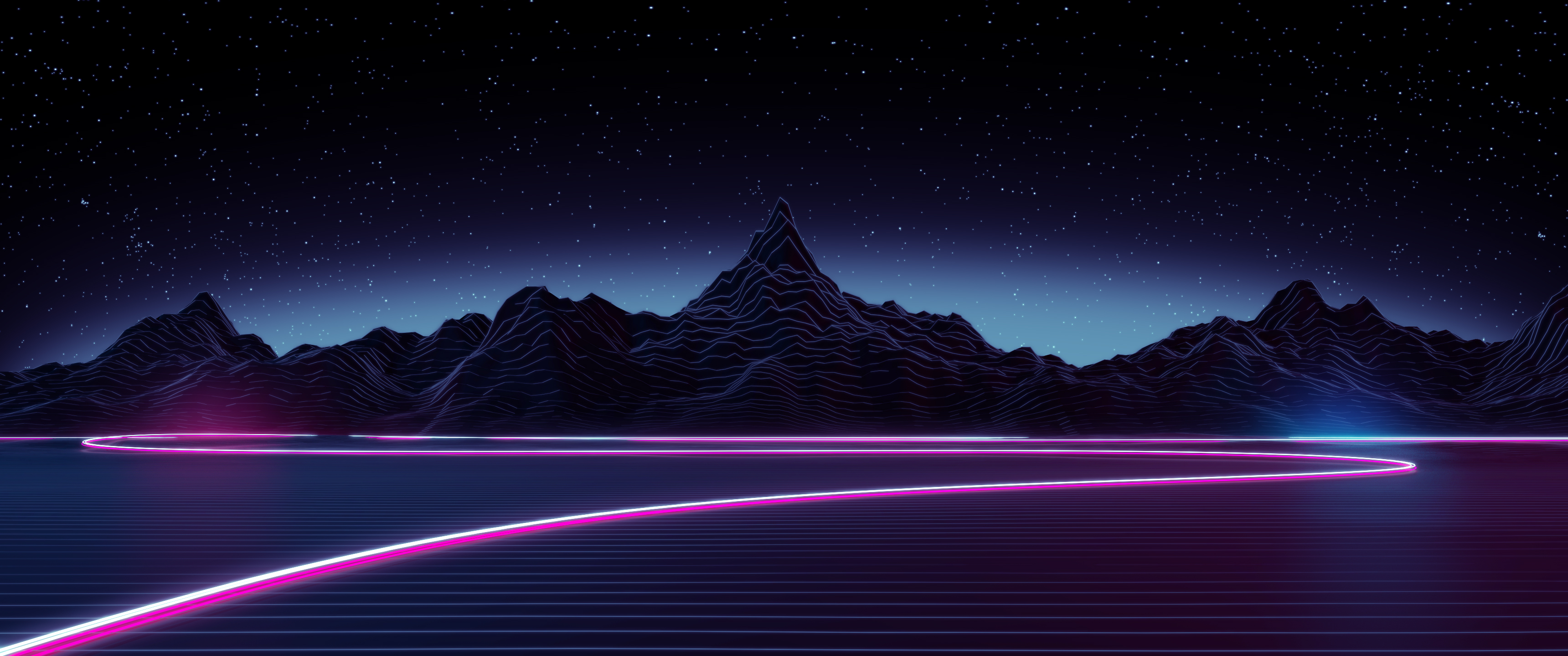 Fantastic Wallpaper Mountain Aesthetic - highway_by_axiomdesign-d9em9fs  HD_94241.jpg
