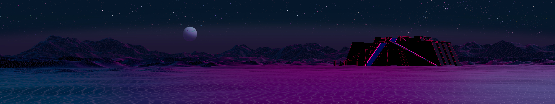 Amazing Wallpaper Mountain Aesthetic - ziggurat_side_triple_monitor_by_axiomdesign-daa8g63  HD_999927.jpg