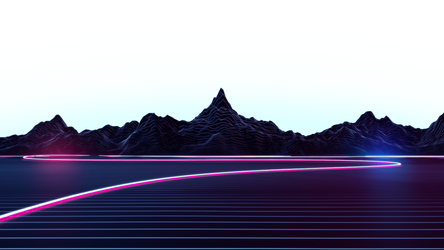 Highway 16x9 Transparent Background (With Aura)
