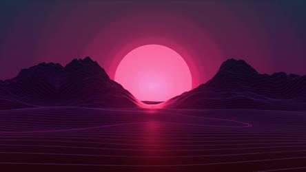 Neon Sunset 4k