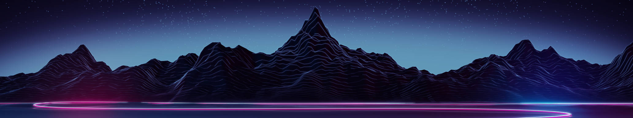 Highway (7680x1440) by AxiomDesign