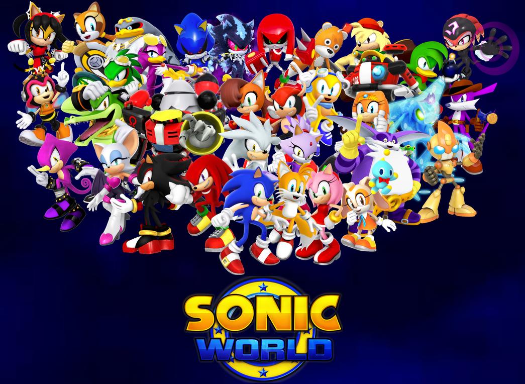sonic world wallpaper v2 by shadic2001sonicworld on deviantart