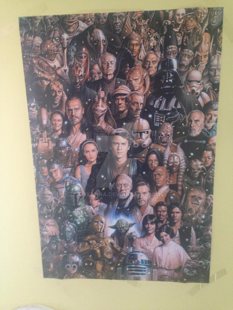 my starwars poster by loxanna