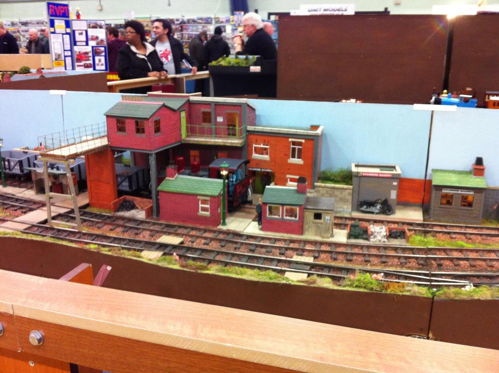 model railway show by loxanna