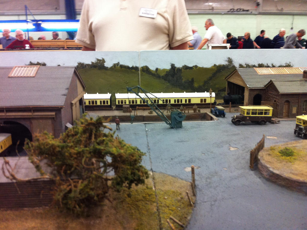 another boring train model by loxanna