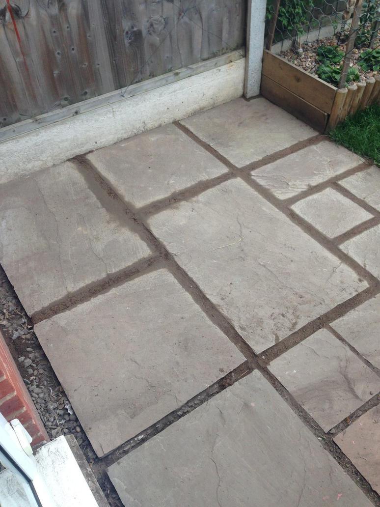 my garden patio by loxanna
