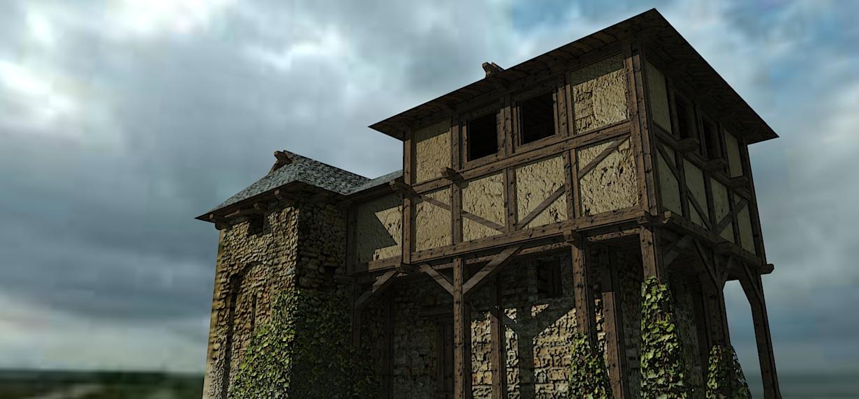 medieval farmhouse by lordgood -#main