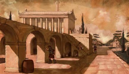 Temple of Saturnus by LordGood
