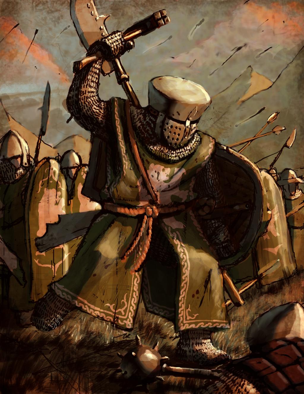 Rhodok Sergeants by LordGood