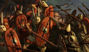 Flanking Triarii