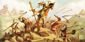 Zapotec Background