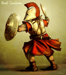 Broad Swordsman by LordGood