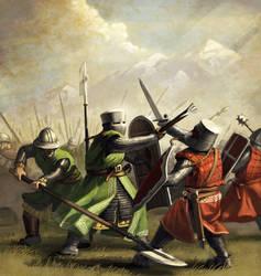 Rhodok Infantry by LordGood