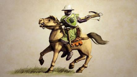 Rhodok Crossbow Cavalry by LordGood