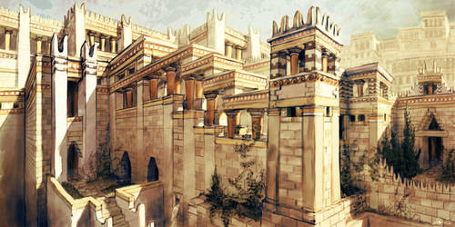 Palace of King Minos by LordGood
