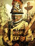 Tlingit Warrior