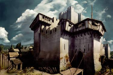 Castle Gate by LordGood
