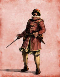 Militia Sergeant by LordGood