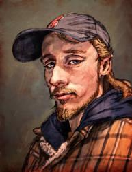 Self Portrait 2-3-19 by LordGood