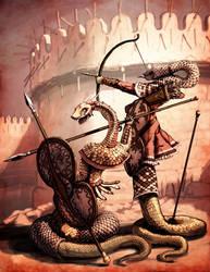 Naga Warriors by LordGood