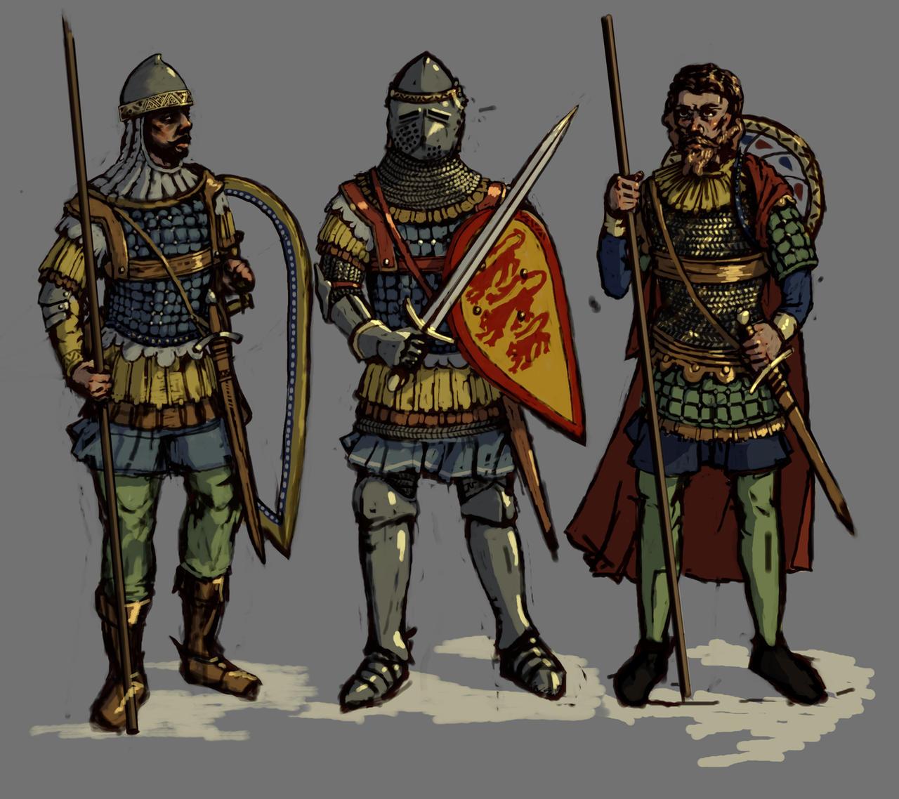 Bulgarian Horsemen by LordGood on DeviantArt