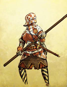 Painted Half-Armor