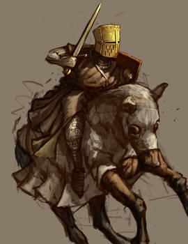 Golden Helm Knight