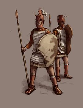 Mycenaean Spearmen