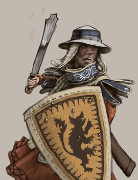 Latin Crusader Sergeant
