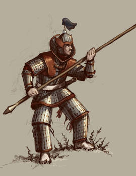 Korean Goryeo Heavy Lancer