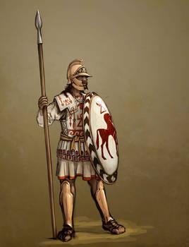 Liby-Phoenician Hoplite