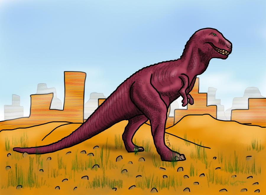 Tyrannosaurus Rex by HairyDalek
