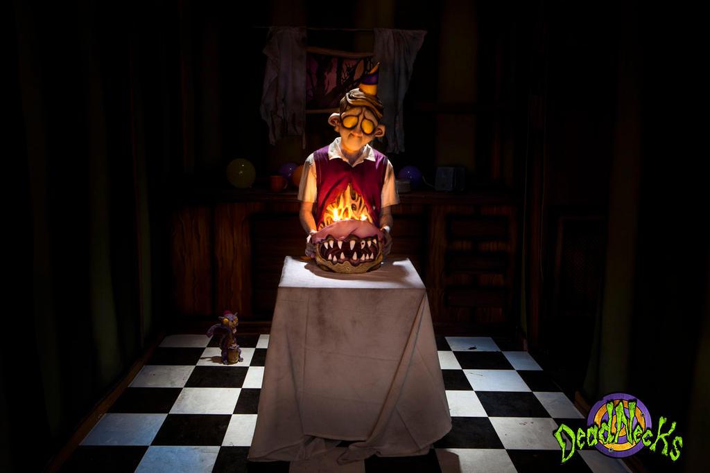 DeadNecks Birthday Boy by JPattonFX