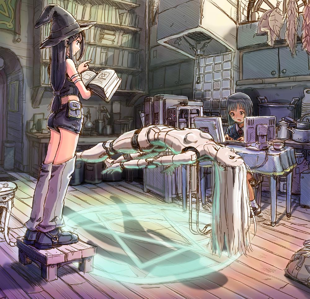 Cyborg Girl Anime 013 By Pepekas On DeviantArt