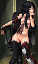 Cyborg Girl Anime 021 by Pepekas