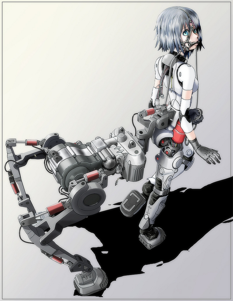 Cyborg Girl Anime 037 by Pepekas on DeviantArt