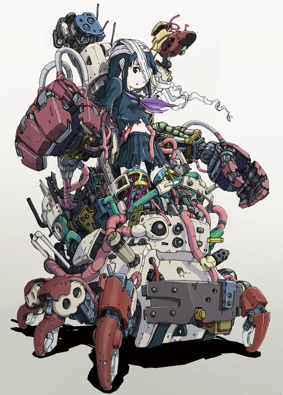 Cyborg Girl Anime 067 by Pepekas on DeviantArt